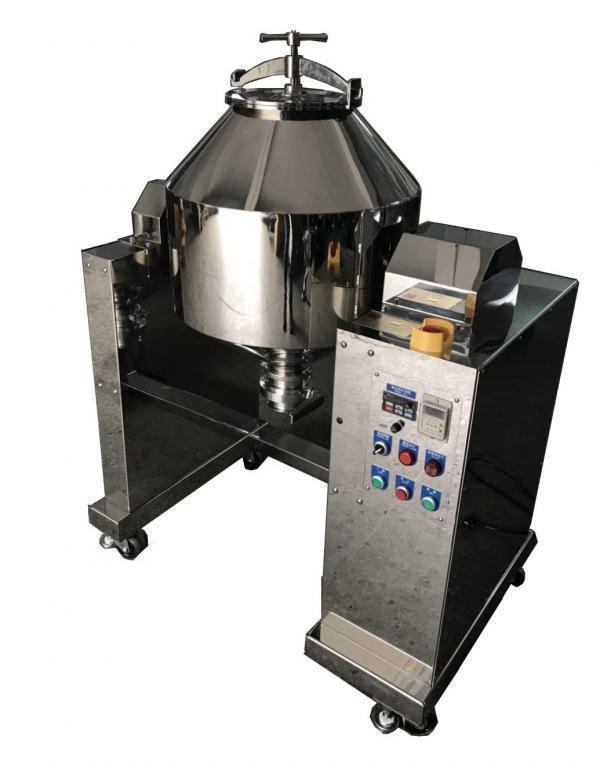 20 Kg Stainless Steel Double Cone Powder Blender