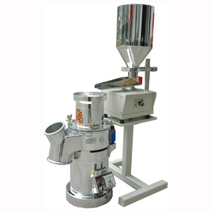 Vibrating Material Feeding Machine  &  RT-34 1HP Grinder