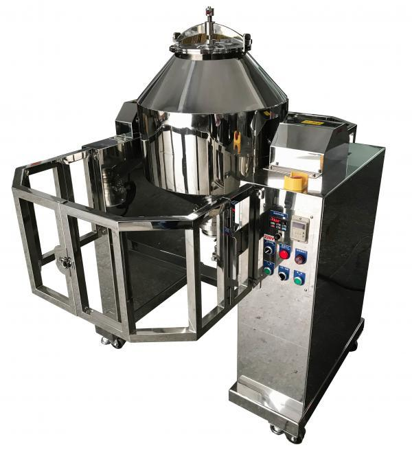 40 Kg Stainless Steel Double Cone Powder Blender