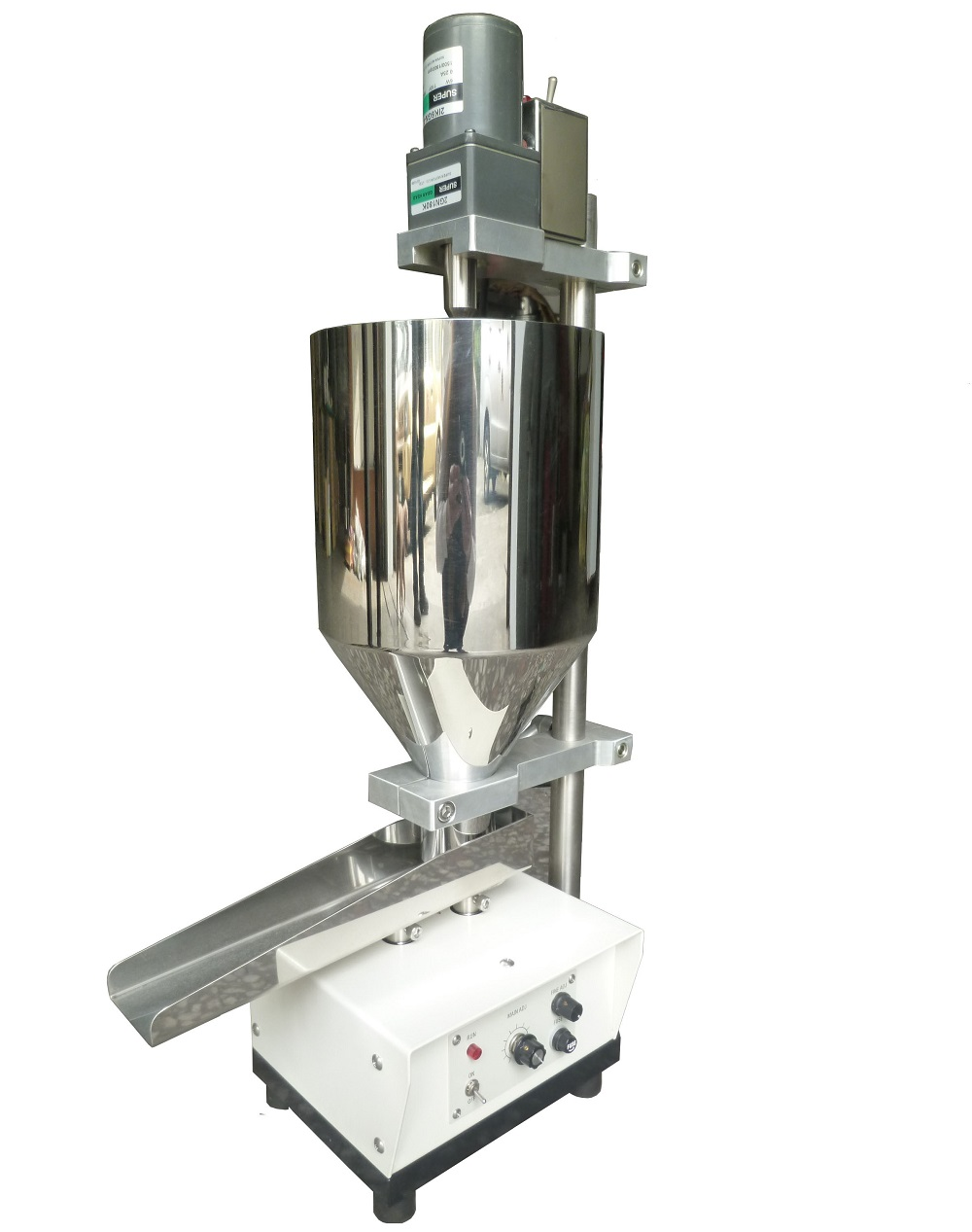 Vibrating Material Feeding Machine + Stirrer