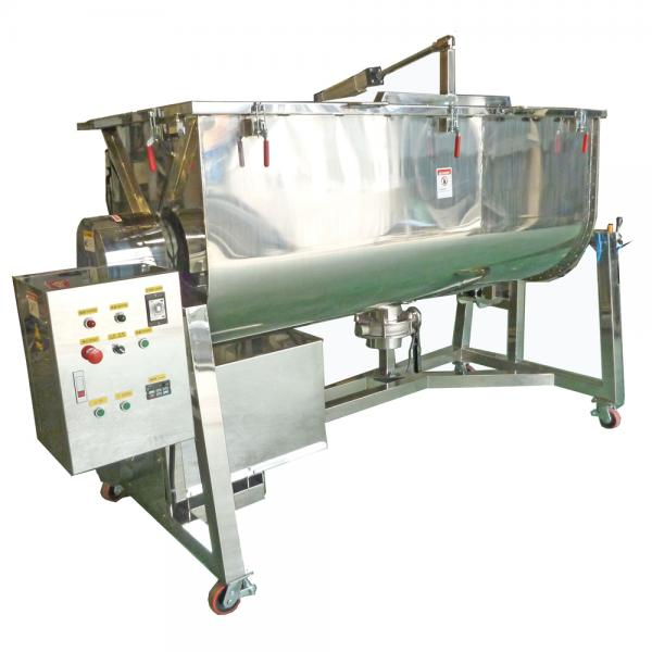 Stainless Steel Type Double Ribbon Mixer
