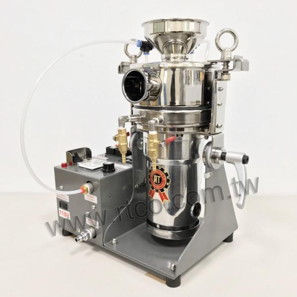 Table Type Water Cooling Air Pulse Ultra Fine Powder Pulverizing Machine